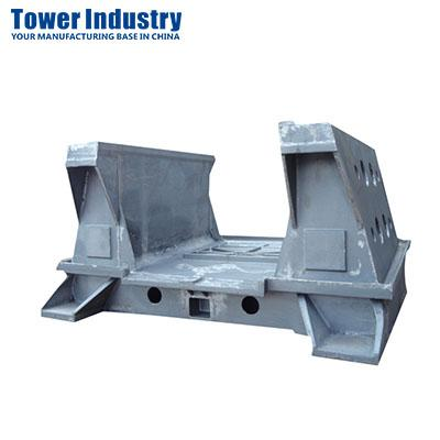 Base for machine tools