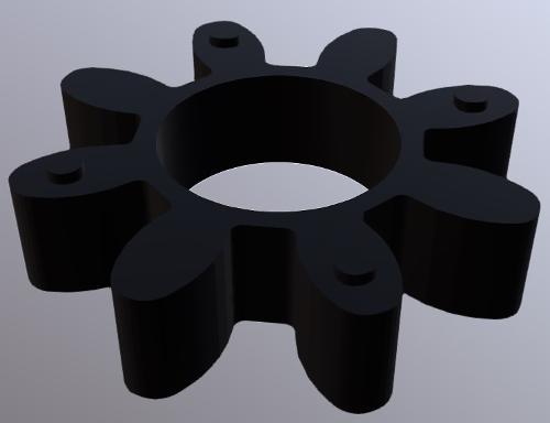 Parastrappi per giunti / Inserto elastico in gomma