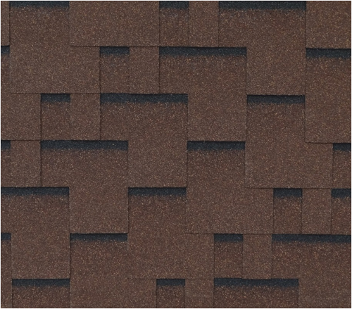 Bitumen Shingles RoofShield Family Light Modern Cut