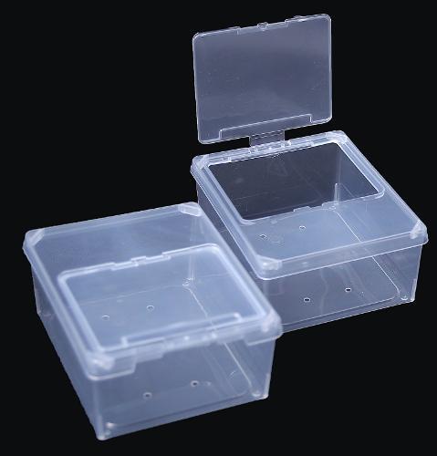 Rectangular box and fliptop lid