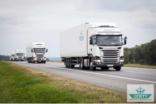 Temperature-controlled transport
