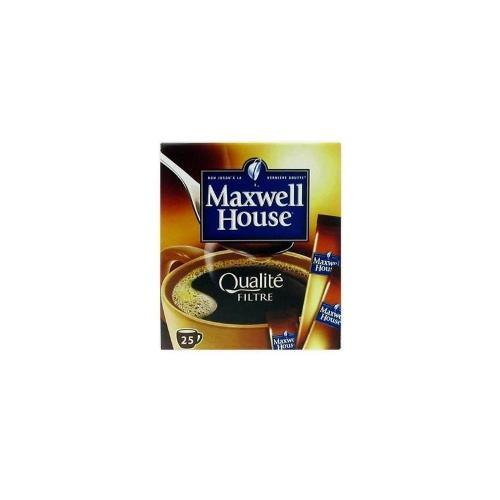 Café qualité filtre x25 sticks 45g - MAXWELL HOUSE