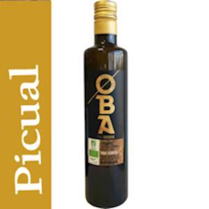 OBA Organic Extra Vierge Olijfolie 500 ml