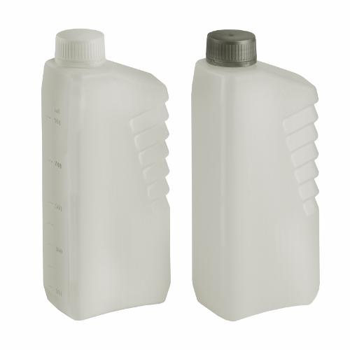 Rechteck-Flasche 1.000 ml Typ LAMELLE - Polyethylen (PE-HD)