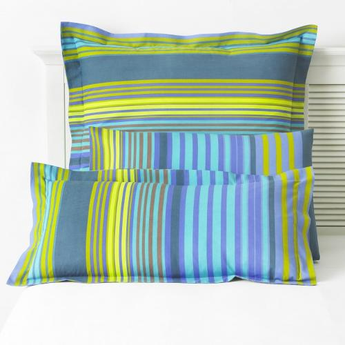 Silver Collection Easy Care Stripped Pillowcases 132 Thread