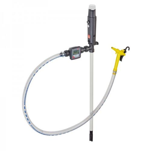 Pump Set B1 Battery PP with impeller, with flow meter