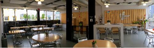 Location de salles de réunion avec restaurant et cafétéria