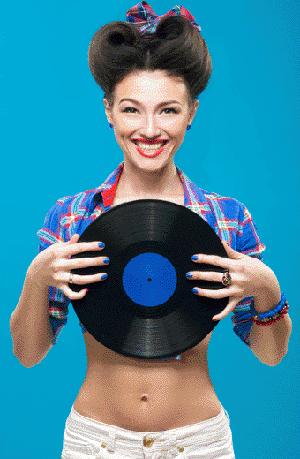 Custodie in cartone per dischi in vinile, stampa su piccole