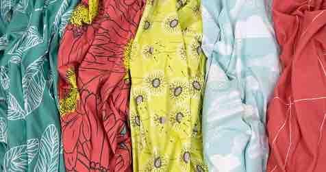 Jersey Fabrics Printed
