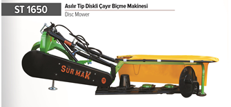 ST 1650 DISC MOWER