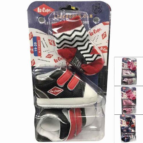 Wholesaler clothing socks licenced Lee Cooper baby