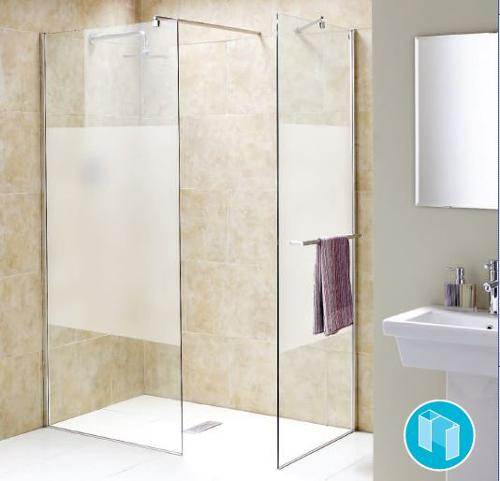 CHIANTI WETROOM PANELS CLEAR GLASS OR OPAQUE PANEL