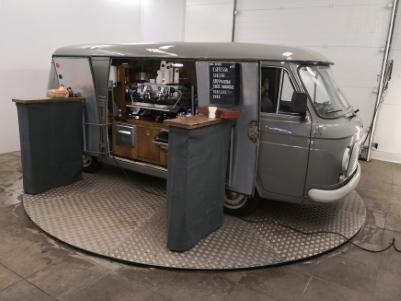 Italiaanse espressobar op locatie