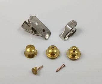 Jewellery Clutch Back / Lapel Pin Fittings / Badge Fittings