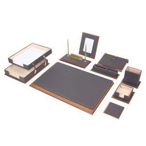 Star Lux Desk Set 11 Pieces - Gray