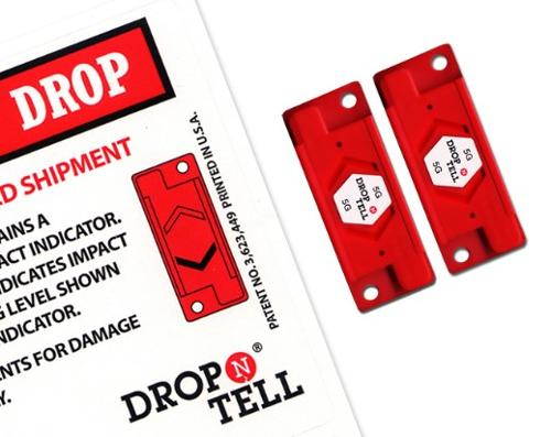 Drop N Tell Damage Indicators - including shipping labels