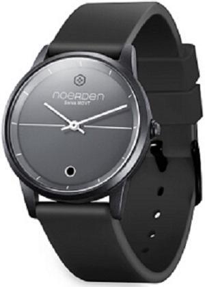 LIFE Hybrid Watch Black Silicon Band