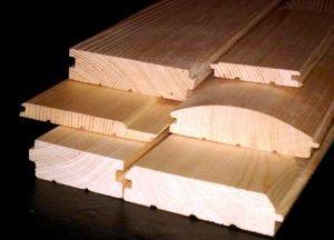 trim-decor facing lumber//dry profiled board (RUSSIA)