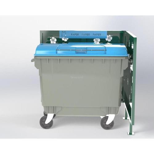 Cache Poubelle Conteneur Hibiscus En L Recyclage Papier