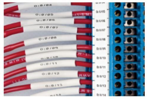 Draht- und Kabelkennzeichnung