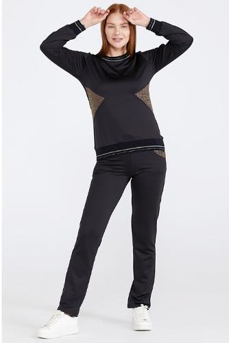 Women's Shimmer Detailed Tracksuit Set