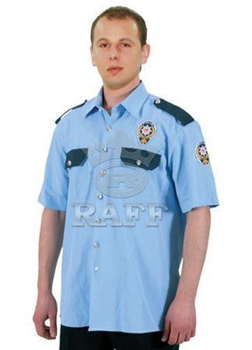 Oficial / policía / camisa de la seguridad