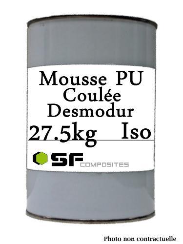 MOUSSE PU DESMODUR ISO - 27.5K