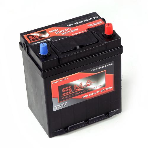 Batteria per avviamento automobili 40H, 12V