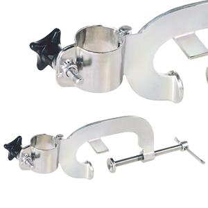Clamping device for eccentric screw pump