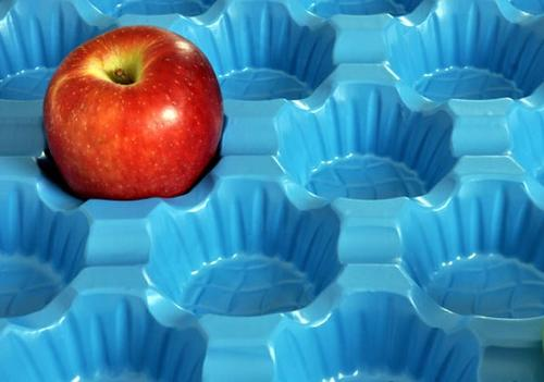 Fruit packaging tray