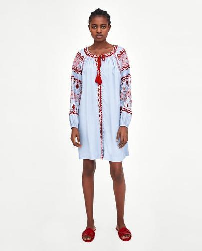 casual cotton rayon dress