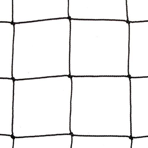 Protection net | black | 20mm mesh | 1,0mm Ø | width 10m