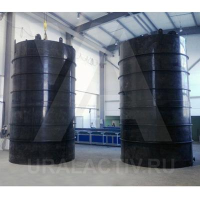 PE storage tanks (vessels)