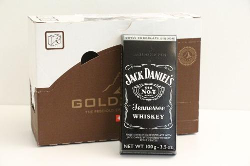 Goldkenn Swiss Milk Chocolate filled With Jack Daniel