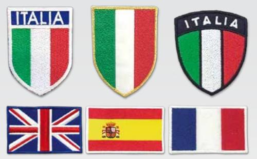 Patch Bandiere Nazioni E Stati