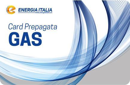 Card prepagata gas