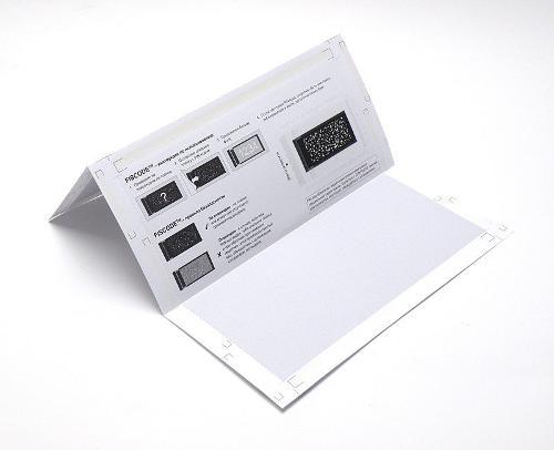 Discreet Envelope / Self-mailer / Pin Fiscode