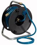 Compressed air hose drum, 20 m PVC hose 15x9