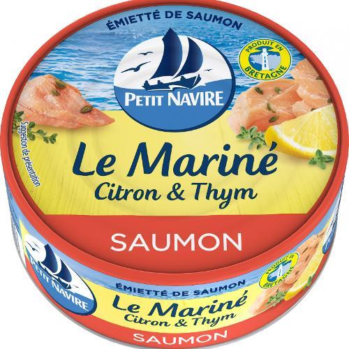 Émietté saumon citron et thym 110g - PETIT NAVIRE