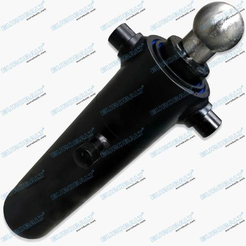 Telescopic two-stage cylinder (piston stroke: 520 mm)
