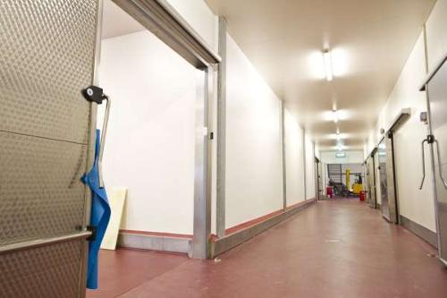 Hygiënische wand- en plafondbekleding