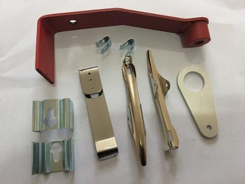 stamped metal clips