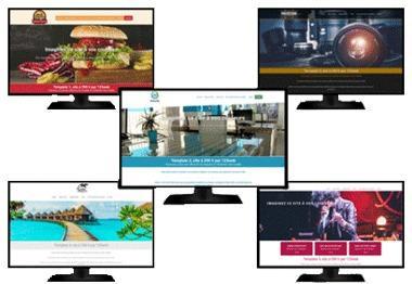 Création site vitrine pas cher Leader + Blog