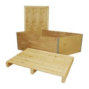 GRANBY BOX GB1B with 2-way pallet closed