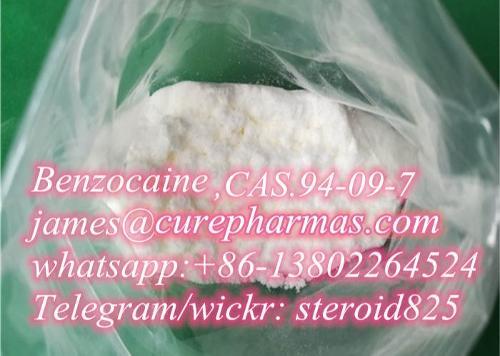 Supply best Benzocaine CAS.94-09-7 Benzocaine hcl powder fac