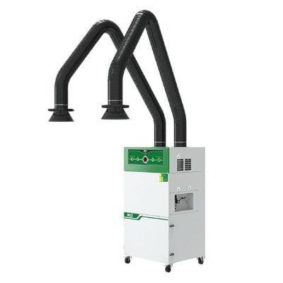 Extractor de humos automático