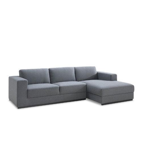 Canapé d'angle design 4 places avec méridienne MAGALIE