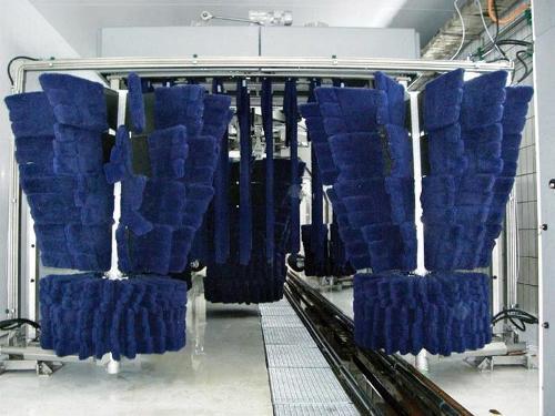 Waschmaterial mit patentierten Multifunktionsträger