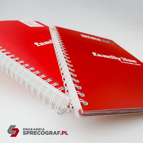 Draadbinding: notitieboekjes, catalogi, brochures
