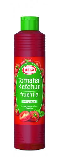 Hela Tomaten Ketchup fruchtig, 800 ml, Glutenfrei, Vegan